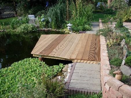 Die teichanlage for Schwimmpool selber bauen